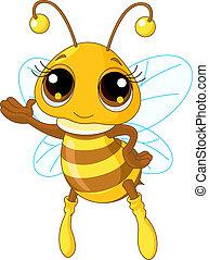 Nette Bienen-Show