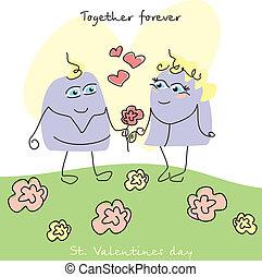Nette Valentinskarte