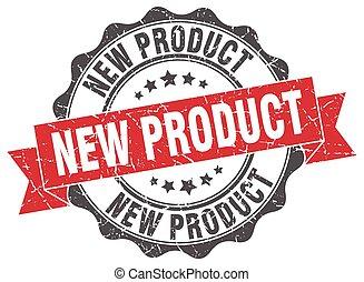 Neue Produktmarke. Unterschreib. Versiegeln