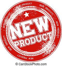 Neuer Produkt-Gunge-Briefmarkenvektor