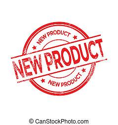 Neuer Produktmarkenvektor.