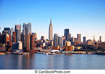 New York City CITY SKYLINE