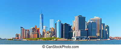 New York City Lower Manhattan.