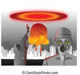 nuklear, katastrophe