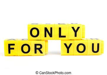 Nur für dich