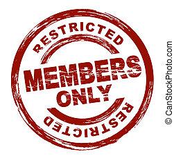 Nur für Mitglieder