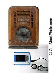 Old Radio New MP3 Spieler 1