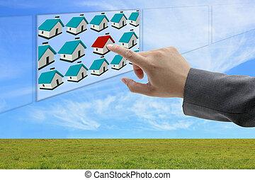 Online-Eigentum zu finden