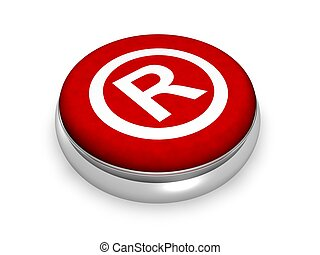 Online registriertes Symbol