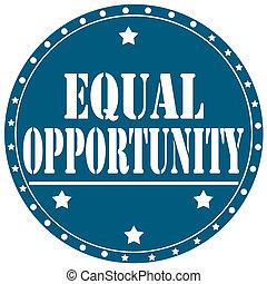 opportunity-label, gleich
