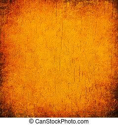 orange, abstrakt, grunge, hintergrund