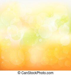 orange, abstrakt, vektor, hintergrund, gelber