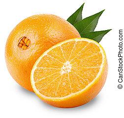 orange, fruechte
