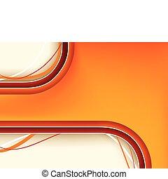 orange hintergrund, copyspace, rotes