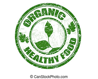 Organische, gesunde Lebensmittelmarke