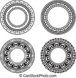 Ornate Kreise