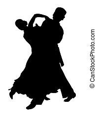 paar, latein, tanzen