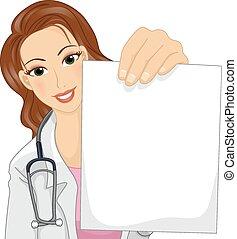 papier, doktor