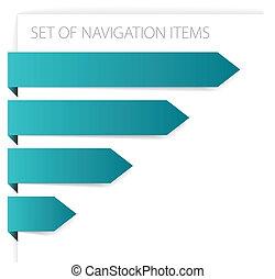 Papierpfeile - moderne Navigationsgeräte