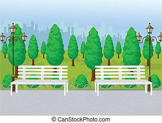 Park View Vektor.
