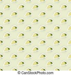 Pattern-Hintergrund mit Weintrauben.