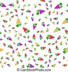 pattern., textilien, traube, packaging., seamless, vektor, haben abbildung lager, hintergruende