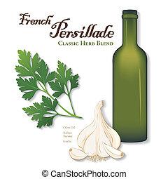 Persillade, französische Kräutermischung