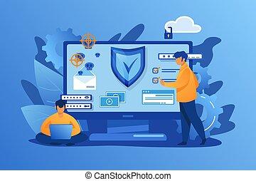 personenschutz, digital