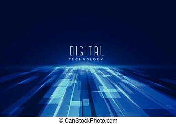 perspektive, zukunftsidee, digital, boden, technologie, hintergrund