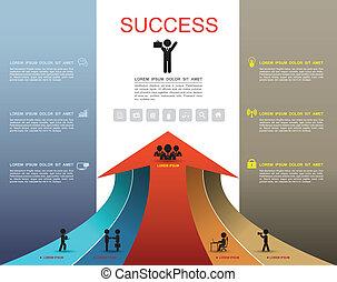 Pfeiloptionen erhöhen den Erfolg.