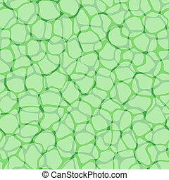 Pflanzenzellen-Mikromustervektor-Hintergrund