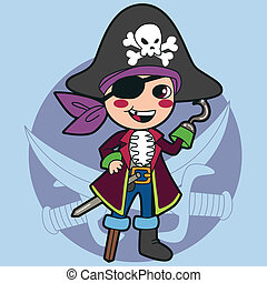 Piratenkostüm.