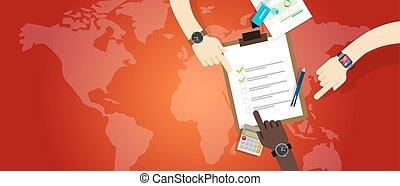 plan, notfall, vorbereitung, management- mannschaft, zuammenarbeit, arbeit