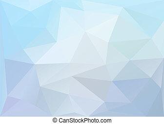 Polygonaler Hintergrund. Vektor EPS10.