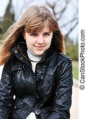 Portrait eines Teenagers.