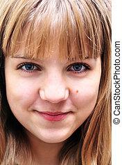Portrait von Teenager-Mädchen