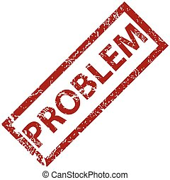 problem, urkundenstempel