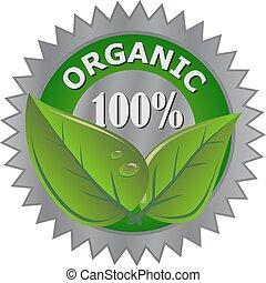 produkt, organische , etikett