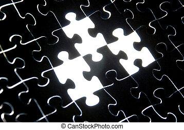 Puzzle Hintergrund deaktivieren