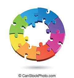 Puzzle-Kreislauf