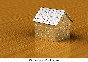 Puzzlehaus.