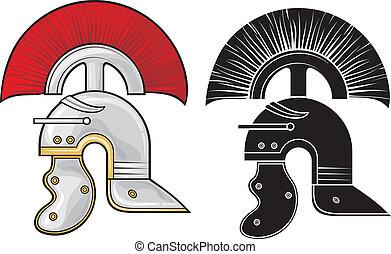 römischer Helm.