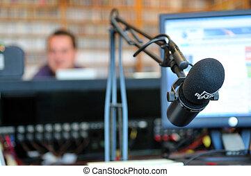 Radiostation Mikrofon