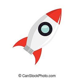Raketenwerfer starten.