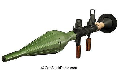 Raketenwerfer.