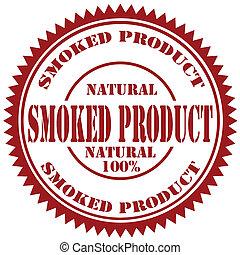 Raucher-Produktstempel.