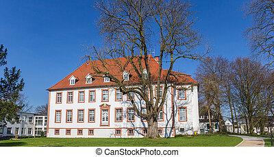reckenburg, villa, historisch, wiedenbruck, park