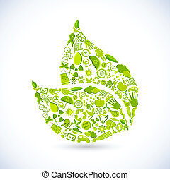 Recycle Blatt