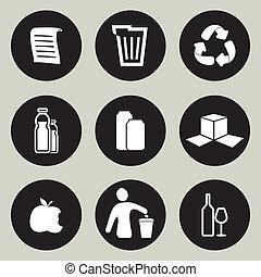Recycling-Icon-Set