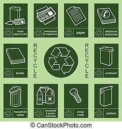 Recyclingzeichen 3
